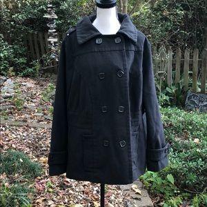 Ashley Stewart grey coat 1X